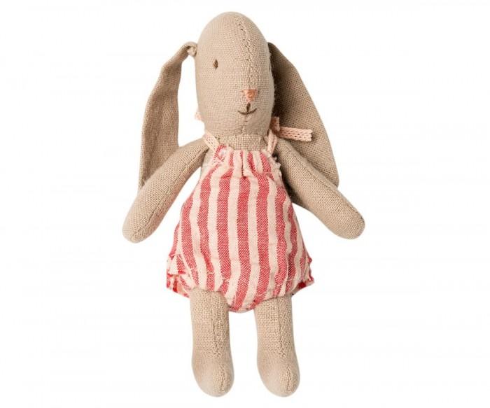 Картинка для Мягкая игрушка Maileg Заяц Микро девочка