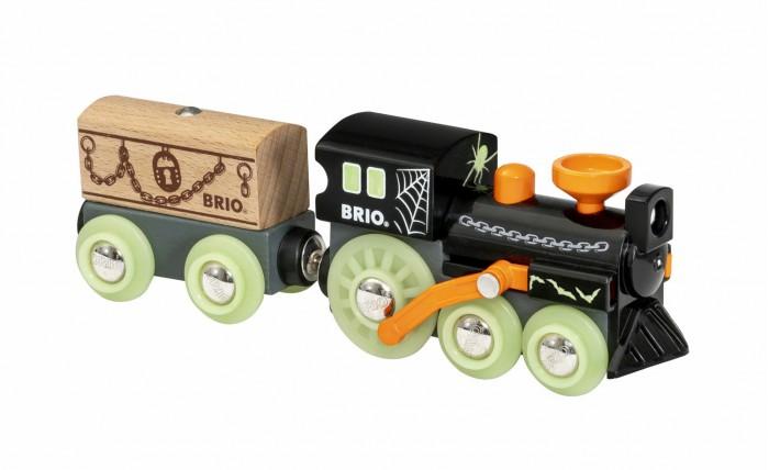 Купить Железные дороги, Brio Поезд-Призрак светящийся в темноте