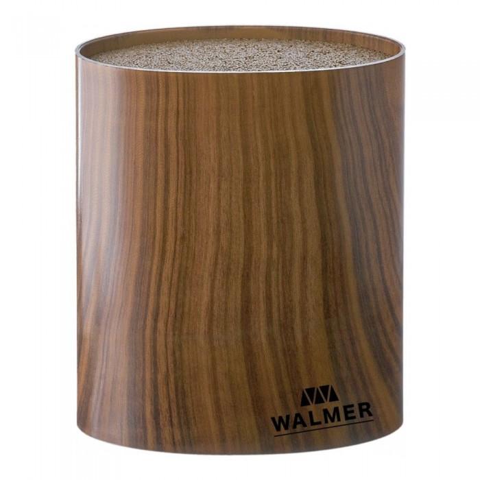 Картинка для Выпечка и приготовление Walmer Подставка для ножей овальная Wood 16x16x7 см