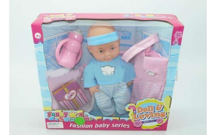 Фото - Куклы и одежда для кукол Игротрейд Пупс 1086871 куклы и одежда для кукол игротрейд пупсик спящий