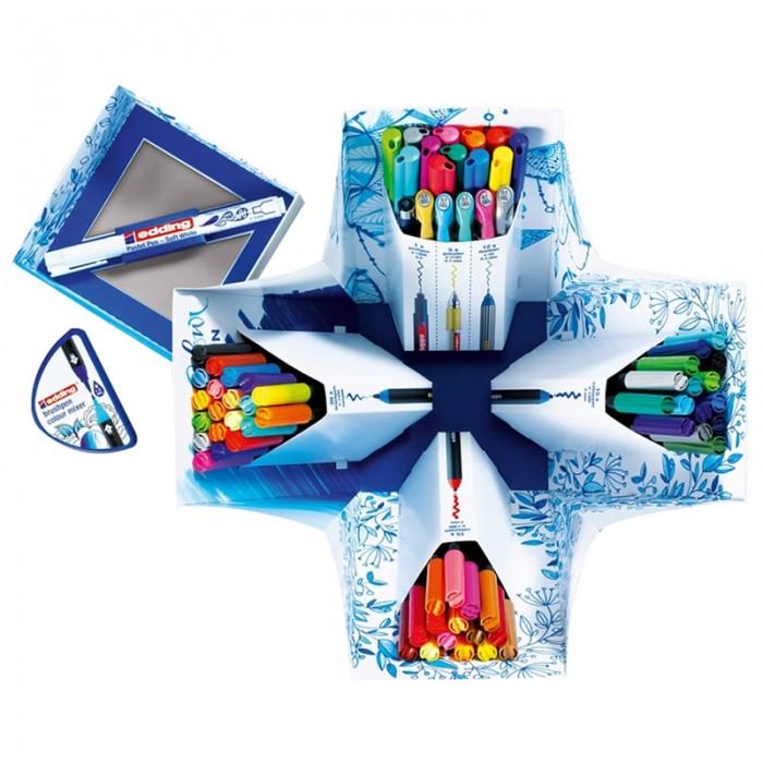 Купить Принадлежности для рисования, Edding Набор для рисования Colour Happy Big (70 предметов)
