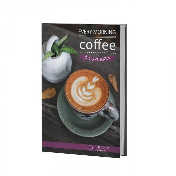 Канцелярия Attache Ежедневник недатированный Coffe А5 128 листов