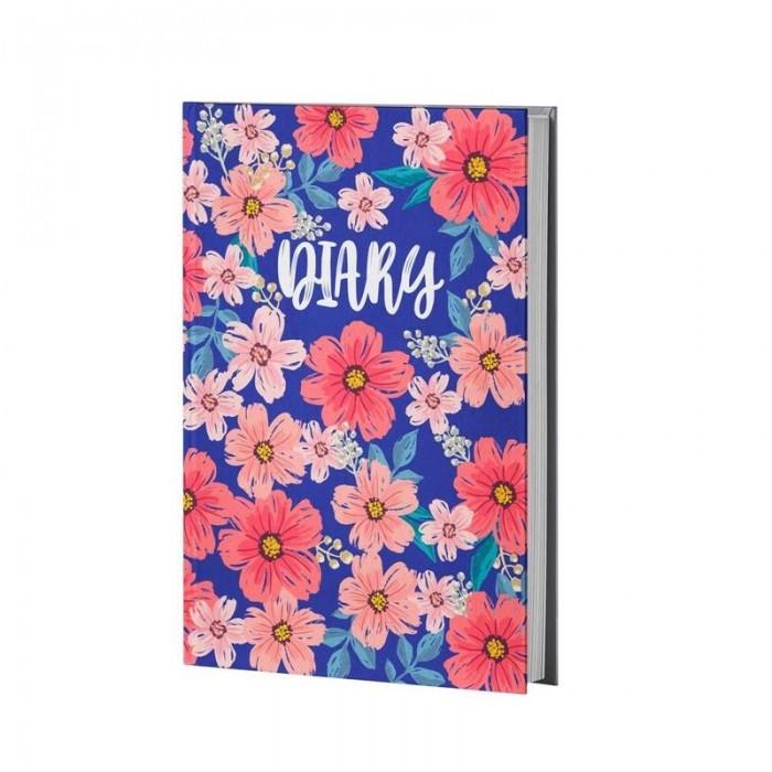 Канцелярия Attache Ежедневник недатированный Цветы А5 128 листов