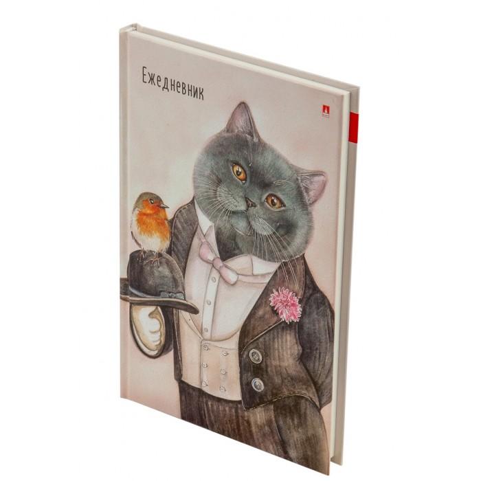 Канцелярия Альт Ежедневник недатированный Особо важные коты A5 256 страниц