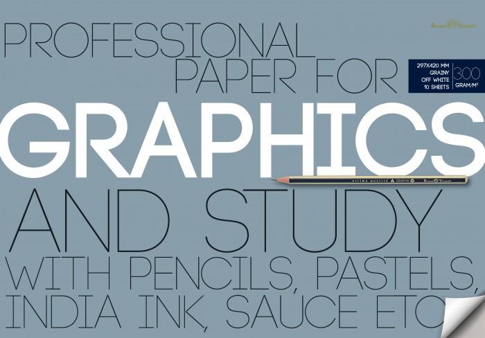 Принадлежности для рисования Bruno Visconti Бумага для графики в папке А3 10 л