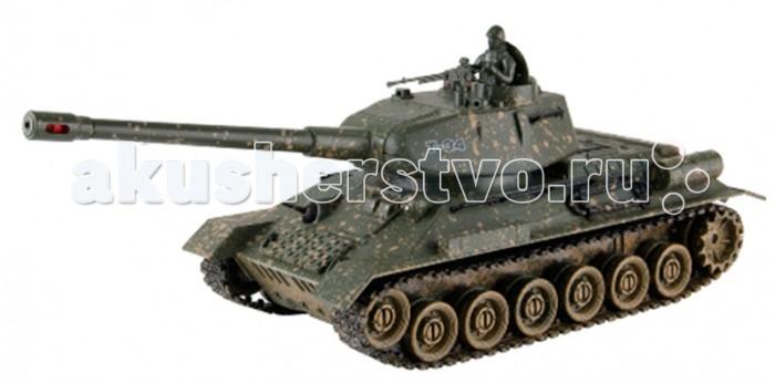 Yako Радиоуправляемый танк Т34Радиоуправляемый танк Т34Радиоуправляемый танк YAKO Т34 может не просто перемещаться в пространстве, он и стрелять из автоматической пневматической пушки.    Особенности:   Масштаб 1:24  Частота 27 МГц.   Пушка с инфракрасным излучаетелем.   Радиус действия пульта -12 м.   Радиус передачи ИК сигнала - 8 м.   Время работы 15-20 минут.   Время зарядки - 4 часа.   Скорость танка - 6 км/ч.   Демо режим.   Функция автоотключения.   Имитация отката при выстреле.   Движение танка во все стороны.   Поворот башни на 320 градусов.   Подъём на наклонную поверхность при угле наклона - до 45 градусов.    Питание танка от аккумулятора (в комплекте) Ni Cd 600 mAh 4,8V.  Питание пульта управления - от 2-х батареек типа АА (нет в комплекте).<br>