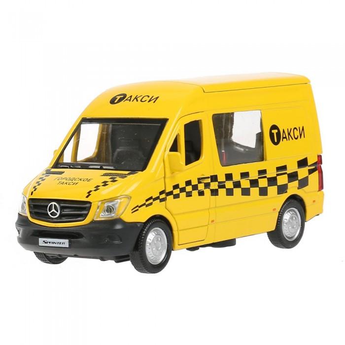 Технопарк Машина металлическая Mercedes-Benz Sprinter Такси 14 см