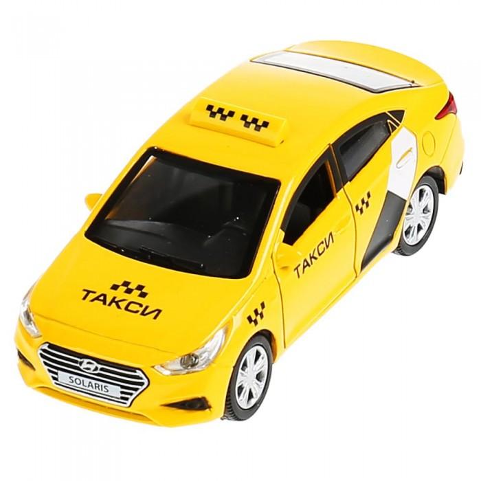 Машины Технопарк Машина металлическая Hyundai Solaris Такси 12 см машины технопарк машина газ чайка такси