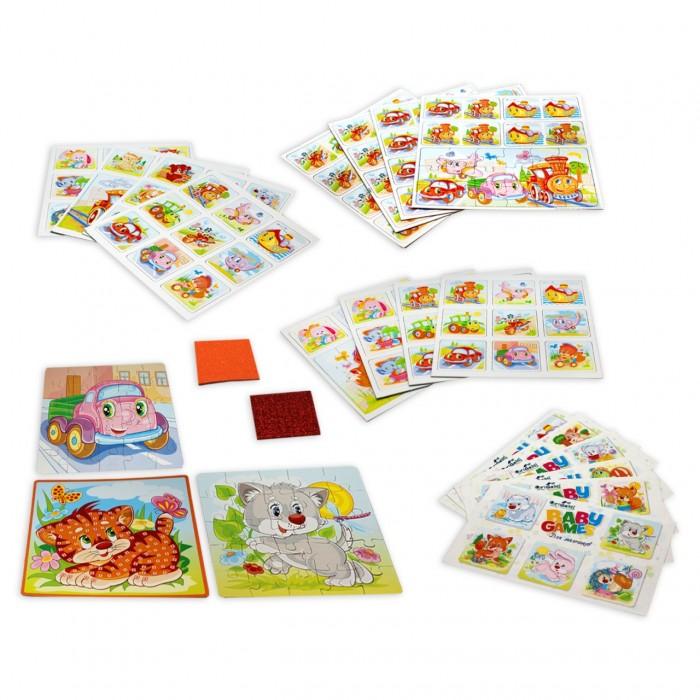 Настольные игры Origami Набор подарочный для мальчиков 6 в 1