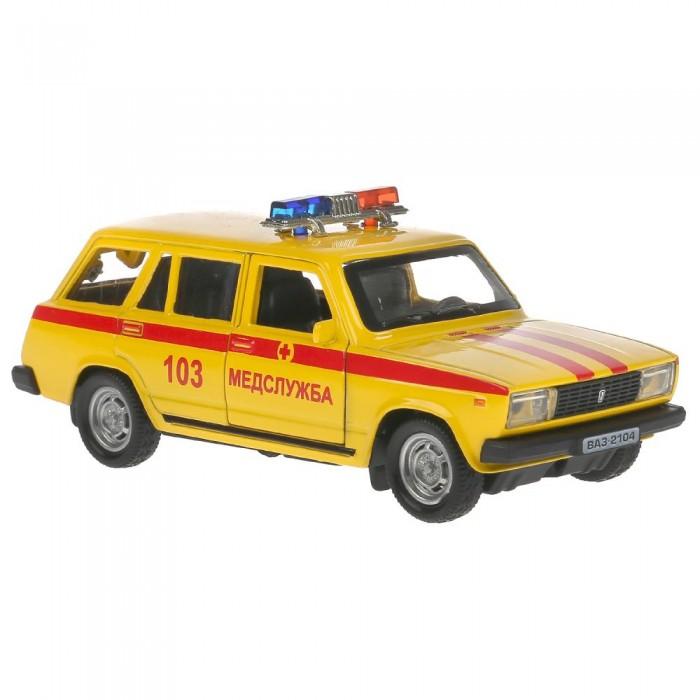 Купить Машины, Технопарк Машина металлическая ВАЗ-2104 Жигули Скорая помощь 12 см