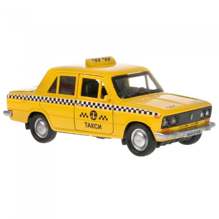 Технопарк Машина металлическая ВАЗ-2106 Жигули Такси 12 см