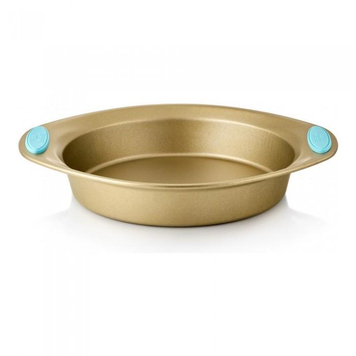Выпечка и приготовление Walmer Круглая форма для выпечки Crown с ручками 31х25.5х5 см форма для выпечки walmer bristol 24x24x9cm w12040186