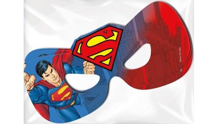 Товары для праздника Nd Play Набор масок №2 Superman 6 шт. товары для праздника nd play l o lнабор