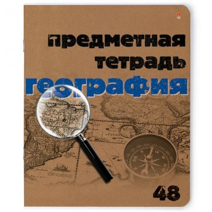 Тетради Альт Тетрадь предметная Крафт География А5 48 листов