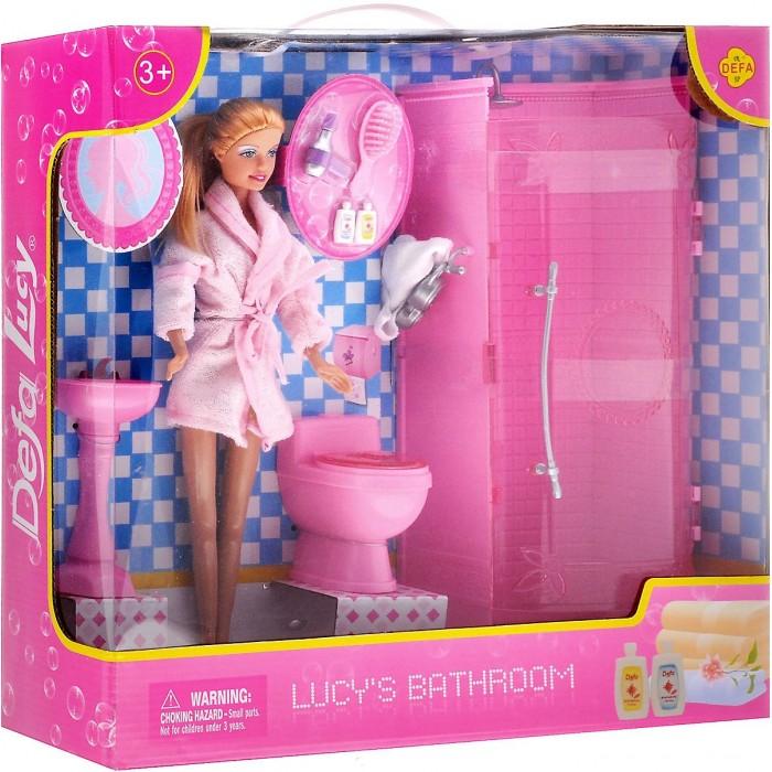 Defa Кукла в ванной комнате