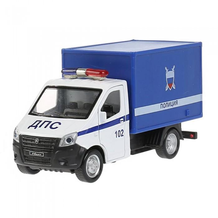 Технопарк Машина металлическая ГАЗель Next Полиция 14 см