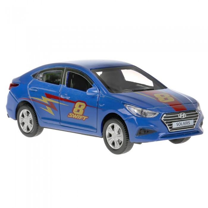 Технопарк Машина металлическая Hyundai Solaris Спорт 12 см