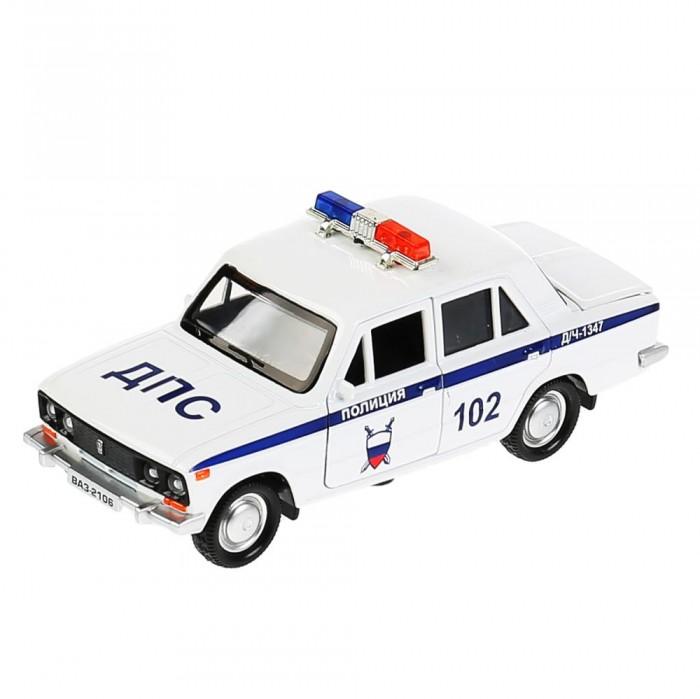 Купить Машины, Технопарк Машина металлическая ВАЗ-2106 Жигули Полиция