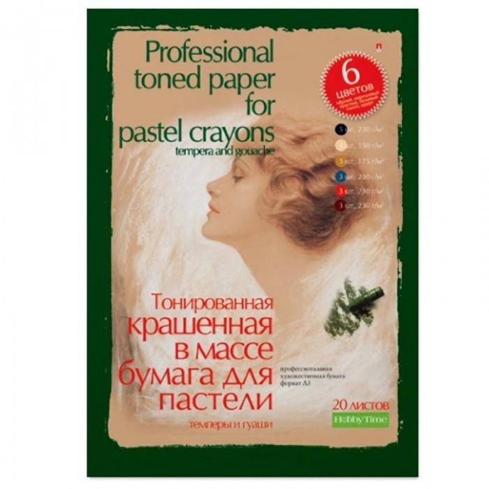 Купить Принадлежности для рисования, Альт Папка для пастели гуаши темперы А3 20 листов 6 цветов