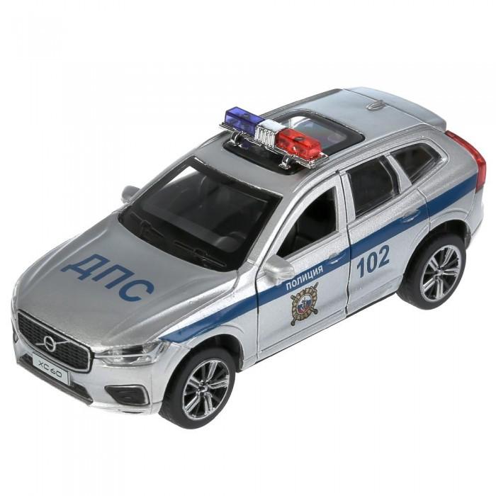 Технопарк Машина металлическая Volvo XC60 R-desing Полиция