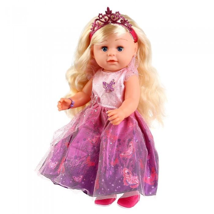 Картинка для Куклы и одежда для кукол Карапуз Кукла функциональная Танечка 45 см