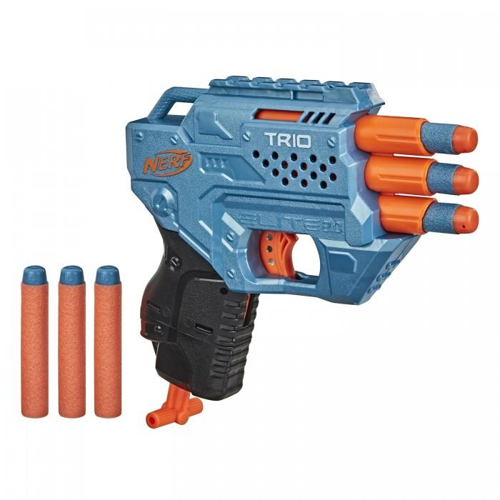Игрушечное оружие Nerf Бластер Трио E9954EU4 другое оружие и боеприпасы nerf специальный агент