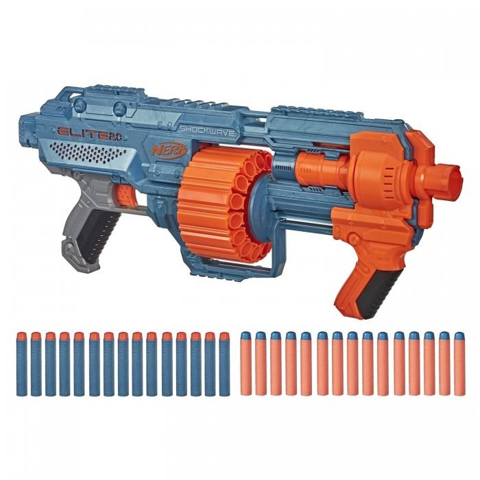 Игрушечное оружие Nerf Бластер Шоквэйв другое оружие и боеприпасы nerf специальный агент