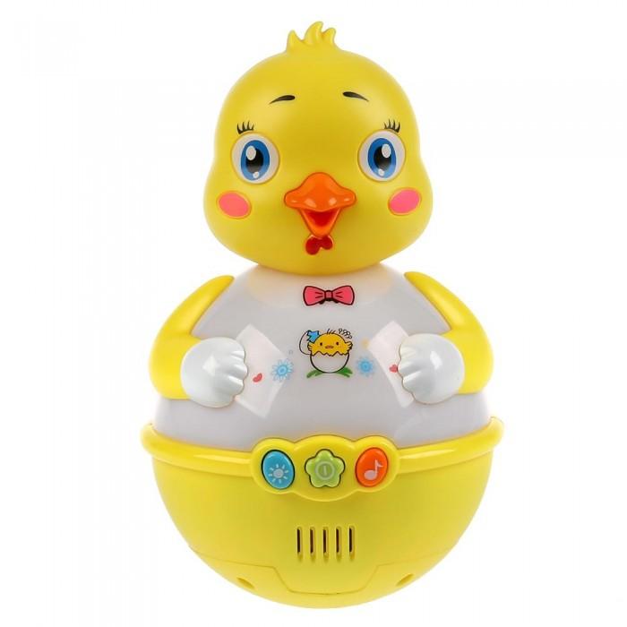 Картинка для Электронные игрушки Умка Музыкальная неваляшка Цыплёнок