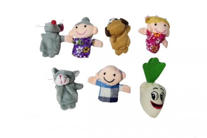 Ролевые игры Bradex Детский пальчиковый кукольный театр Репка ролевые игры жирафики кукольный театр репка 6 кукол