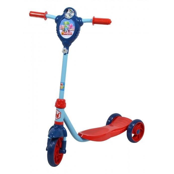 Трехколесный самокат 1 Toy Фиксики Т58419Фиксики Т58419Самокат 1 Toy Фиксики трехколесный, созданный специально для начинающих. Ручки самоката покрыта мягким прорезиненным материалом, поэтому ребенок не натрет мозоли на ладошках.   Катание на самокате - одно из любимых занятий детей. Оно приобретает большую популярность, поскольку не требует специальных навыков. Любой ребенок будет счастлив такой покупке! Пусть ваш ребенок почувствует радость и свободу!   Особенности: Стальной руль Рама сталь, нескользящее покрытие PVC колеса - переднее 150 мм, задние 130 мм  Бесшумное движение без тряски  Ножной тормоз  Декоративная панель с ветряком на руле Максимальная нагрузка: 35 кг   Размеры: 61х70х11 см Вес 2.55 кг<br>
