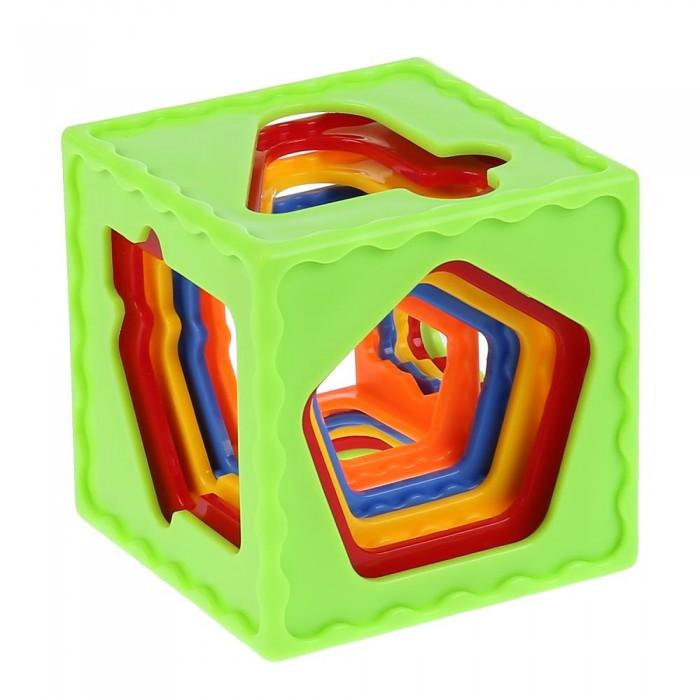 Фото - Развивающие игрушки Умка Пирамидка Весёлые кубики развивающая пирамидка теремок умка