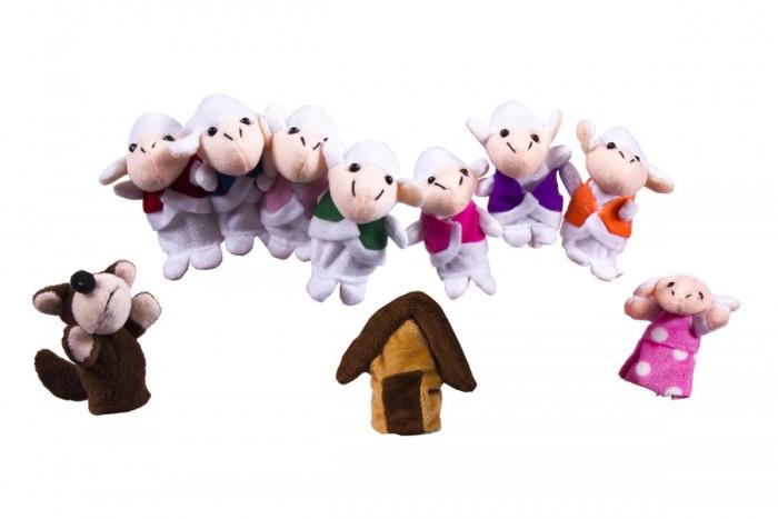 Купить Ролевые игры, Bradex Детский пальчиковый кукольный театр Волк и семеро козлят