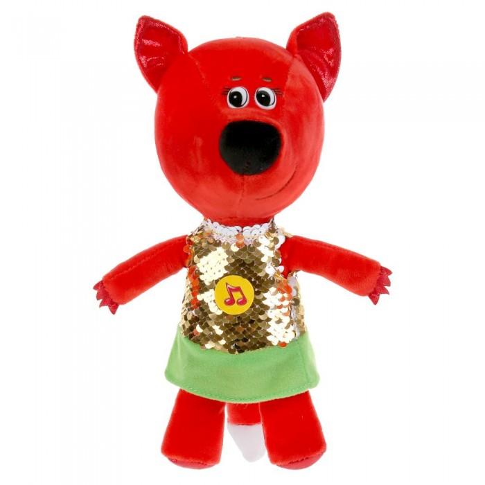 Фото - Мягкие игрушки Мульти-пульти музыкальная Ми-ми-мишки Лисичка в платье из пайеток 20 см мягкая игрушка мульти пульти ми ми мишки лисичка в ободочке 20 см