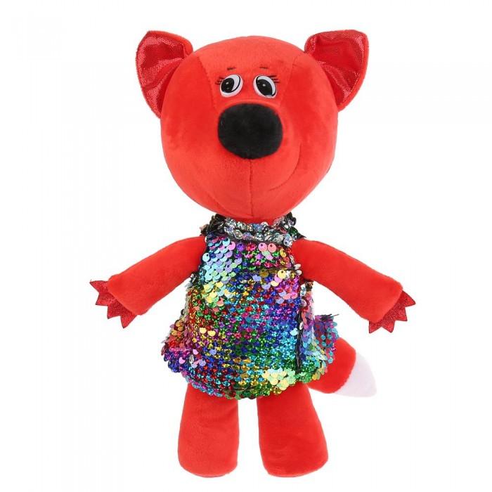Фото - Мягкие игрушки Мульти-пульти Ми-ми-мишки Лисичка в платье из пайеток 20 см мягкая игрушка мульти пульти ми ми мишки лисичка в ободочке 20 см