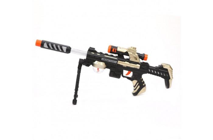 Игрушечное оружие Наша Игрушка Автомат со светом и звуком JQ6890B