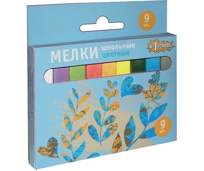 Мелки Мелан 9 цветов в картонной коробке фонарь maglite led светодиод 2d синий 25 см в картонной коробке 947233