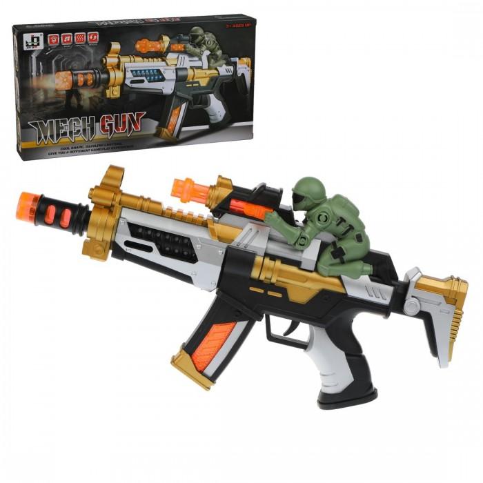 Игрушечное оружие Наша Игрушка Автомат со светом и звуком JQ3011A