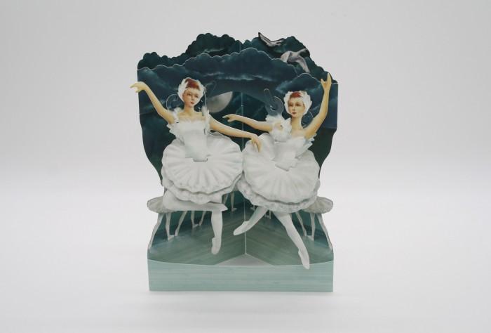 Купить Товары для праздника, Santoro London Объемная открытка Балет