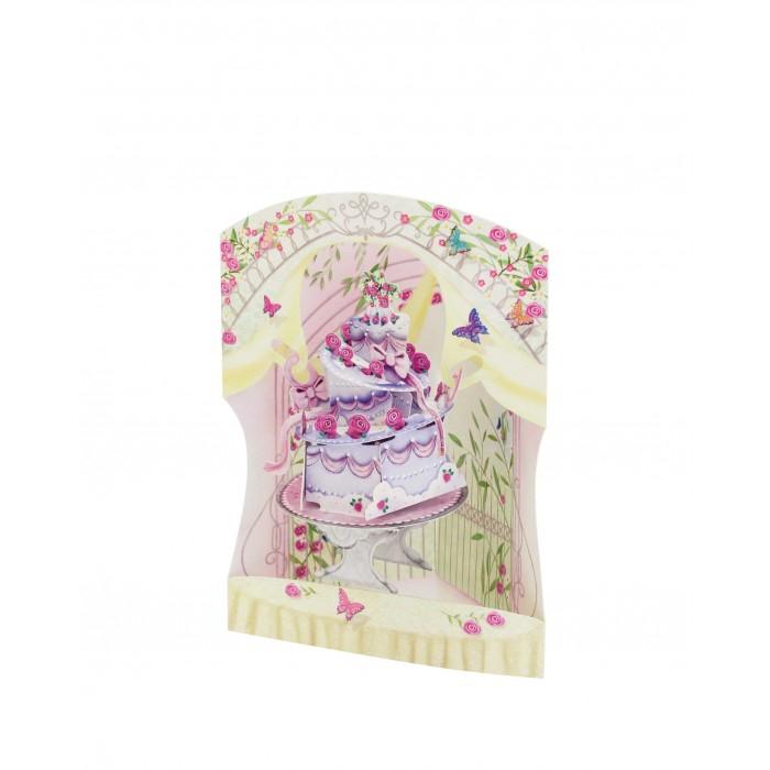 Товары для праздника Santoro London Объемная открытка Свадебный торт