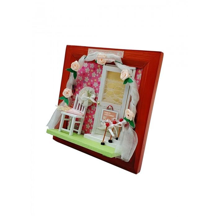 Купить Наборы для творчества, Hobby Day Румбокс Интерьерный конструктор Настенная рамка-открытка Да здравствует любовь!
