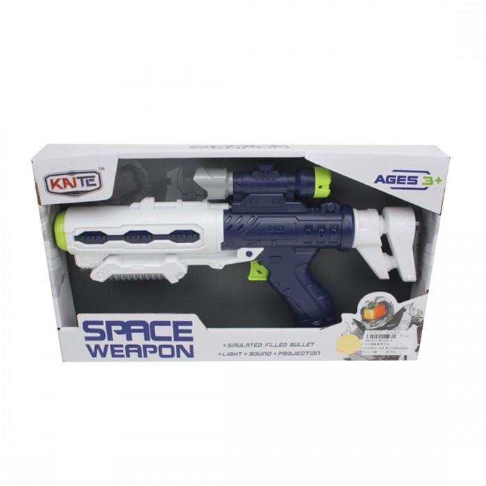 Игрушечное оружие Наша Игрушка Бластер со световыми и звуковыми эффектами игрушечное оружие veld co бластер 72318