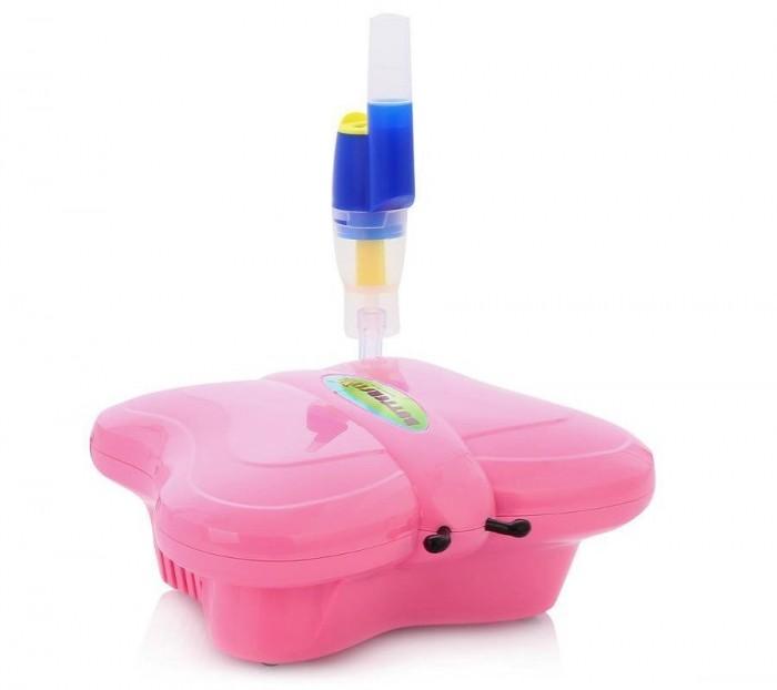 Med2000 Ингалятор компрессорный Бабочка Р5Ингалятор компрессорный Бабочка Р5Med2000 Ингалятор компрессорный Бабочка Р5 имеет встроенный держатель для небулайзера, легок в использовании и подходит для детей разных возрастных групп.   Особенности: Детский дизайн в виде игрушки специально разработан для облегчения проведения процедур.  Ингалятор легко переносить за ручку, встроенную в корпус. Ингалятор оснащен универсальным небулайзером AndyFlow.  Три режима работы позволяют использовать его при лечении заболеваний верхних, средних и нижних дыхательных путей, заболеваний легких, а так же как профилактическое средство против ОРВИ.  3 режима работы:  - Пистон C - степень распыления 1-3 мкм  - Пистон B - степень распыления 3-5 мкм  - Пистон A - степень распыления 5-10 мкм Скорость распыления: > 0,25 мл/мин Объем емкости для лекарств: 7 мл Время непрерывной работы: 30 мин Уровень шума: ~ 54 дб Потребляемая мощность: 160 Вт Источник питания: 220 В Комплект Детский компрессорный ингалятор MED2000 Бабочка Силиконовая трубка Универсальная маска Мундштук Мундштук-соска Сменные фильтры 3 пистона Переходник<br>