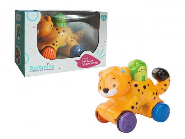 Купить Развивающие игрушки, Развивающая игрушка Elefantino Каталка Тигренок