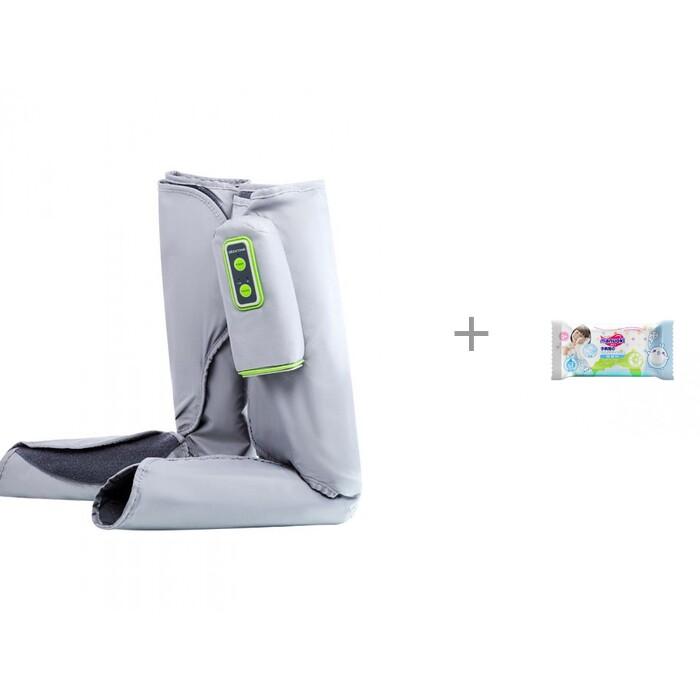 Купить Красота и уход, Gezatone Массажер для ног Bio Sonic и влажные салфетки L 20 шт. Manuoki
