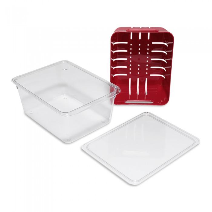 Фото - Контейнеры для еды DOSH | HOME Контейнер для хранения с крышкой Aliot одинарный контейнеры для еды dosh home контейнер прямоугольный aliot 1 5 л