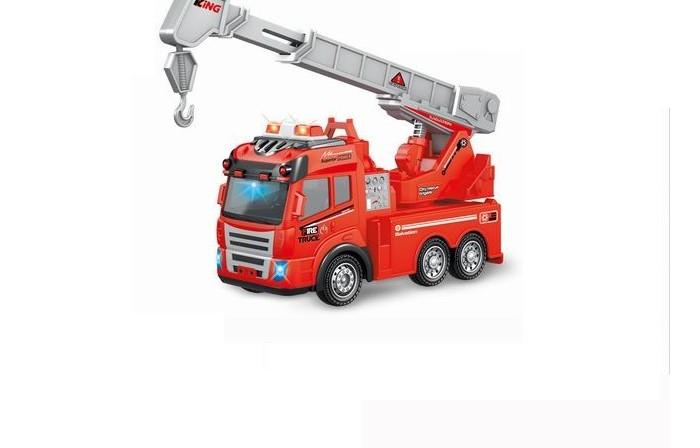 машина на радиоуправлении багги 28см красная Радиоуправляемые игрушки BeBoy Пожарная машина на радиоуправлении IT106331