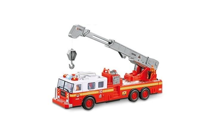 машина на радиоуправлении багги 28см красная Радиоуправляемые игрушки BeBoy Пожарная машина на радиоуправлении IT106333