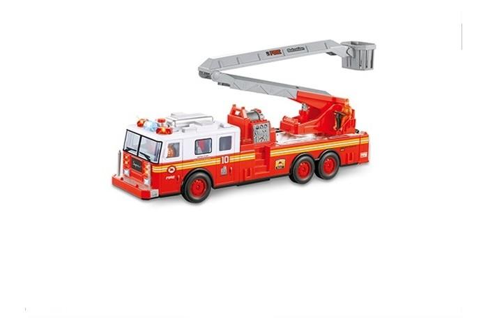 машина на радиоуправлении багги 28см красная Радиоуправляемые игрушки BeBoy Пожарная машина на радиоуправлении IT106334