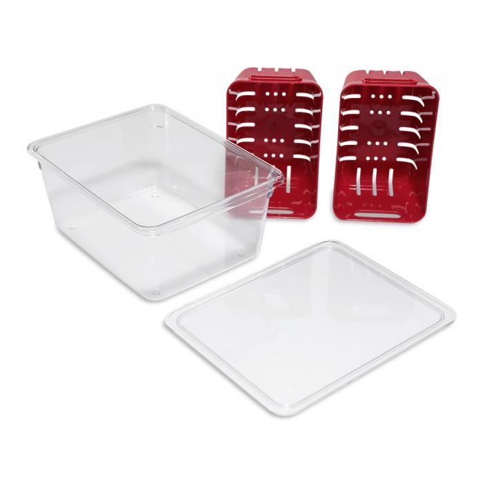 Фото - Контейнеры для еды DOSH | HOME Контейнер для хранения с крышкой Aliot двойной контейнеры для еды dosh home контейнер прямоугольный aliot 1 5 л