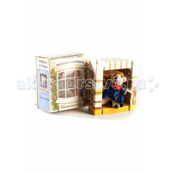 Книжки-игрушки Мишки из книжки Красная шапочка Книга+игрушечный медведь мишки из книжки набор мерлин
